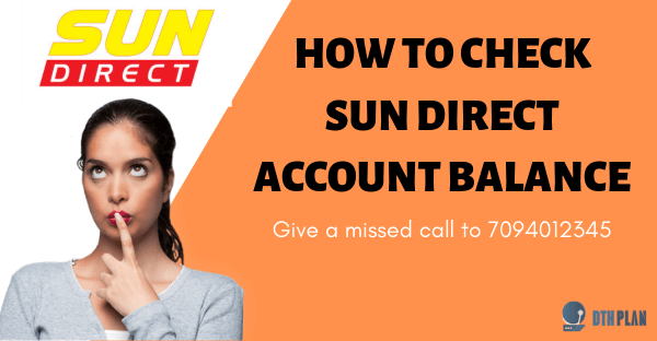 How to Check Sun Direct Balance