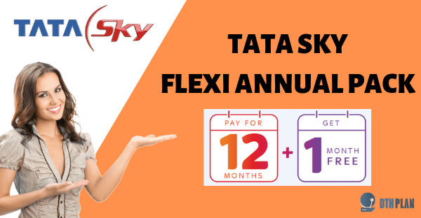 tata sky flexi annual pack