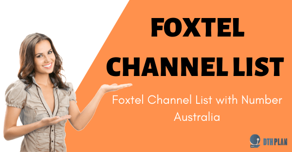 foxtel channel list