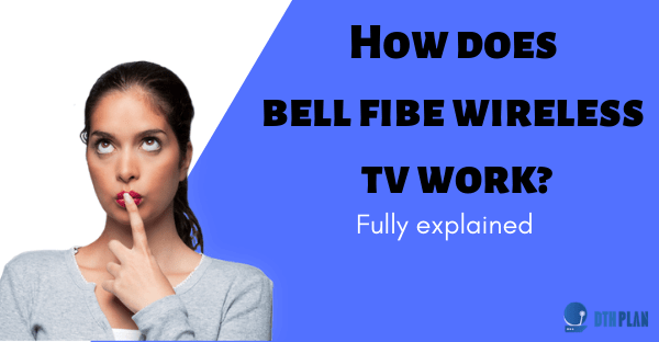 how does bell fibe wireless tv work