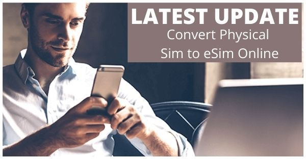 convert jio physical sim to esim online