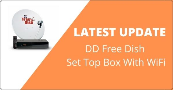 dd free dish set top box with wifi